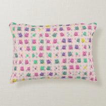 cute owls allover B Accent Pillow