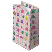 cute owls allover B Small Gift Bag
