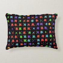 cute owls allover C Decorative Pillow