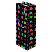 cute owls allover C Wine Gift Bag