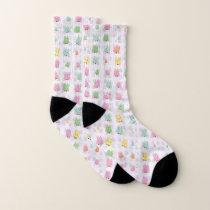 Cute owls allover socks
