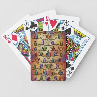 cute owls card deck
