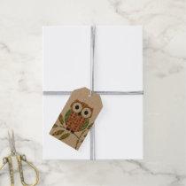 Cute Owls Gift Tag