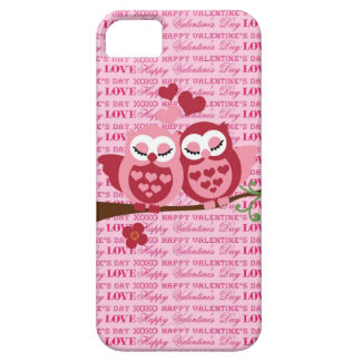 Cute Owls in Love Happy Valentine s Day Gifts iPhone 5 Cover