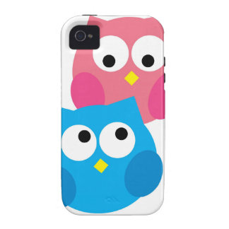 Cute Owls in Love iPhone Case Case For The iPhone 4