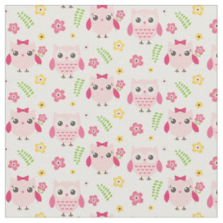 Girl baby shower fabric zazzle for Cute baby fabric
