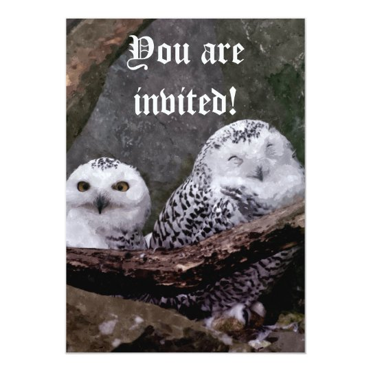 Cute Owls Invitations