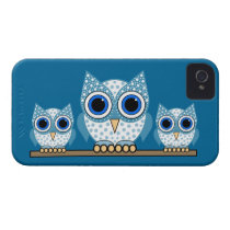cute owls iPhone 4 case
