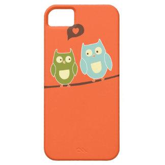 Cute Owls iPhone 5 Case | Orange