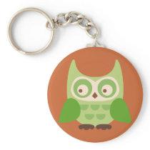 Cute Owls Keychain