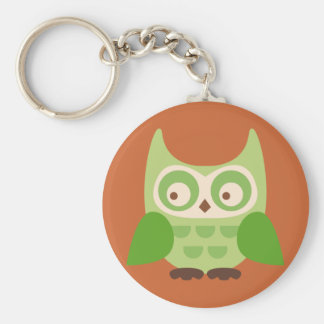 Cute Owls Keychain