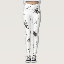 Cute owls leggings