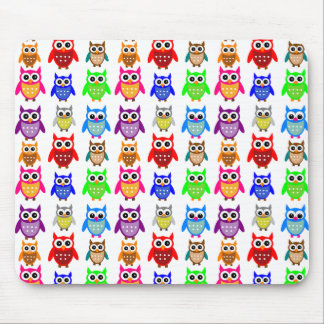 cute owls mouse pad