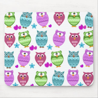 cute owls mousepads