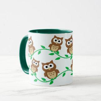 Cute owls mug