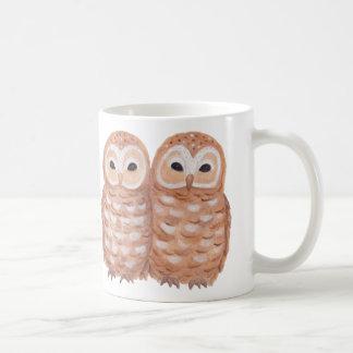 Cute owls mug twin owls magic owl couple graphic
