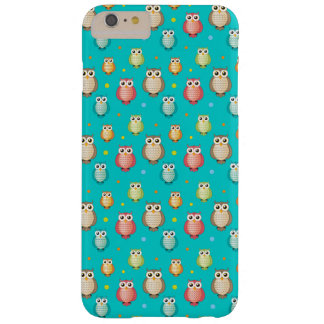 Cute Owls Pattern Barely There iPhone 6 Plus Case