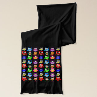 cute owls scarf