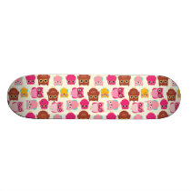 Cute Owls Skateboard Deck