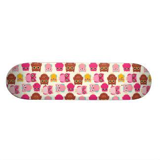Cute Owls Skateboard Deck