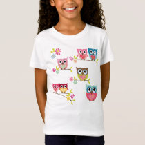 Cute Owls T-Shirt
