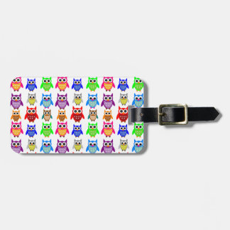 cute owls tag for luggage
