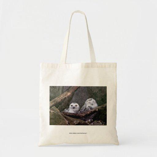 Cute Owls Tote Bags
