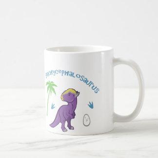 Cute Pachycephalosaurus Classic White Coffee Mug