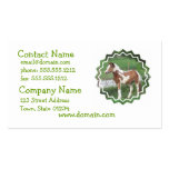 Cute Paint Pony Business Card
