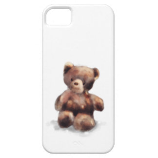 Cute Painted Teddy Bear iPhone SE/5/5s Case