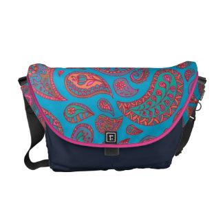 Cute Paisley Messenger Bag