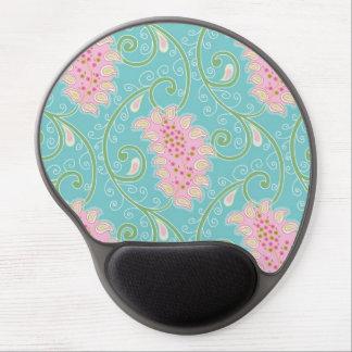 Cute Paisley Pattern Gel Mouse Mat