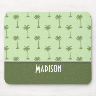 Cute Palm Tree Pattern Mouse Pad