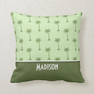 Cute Palm Tree Pattern Throw Pillow