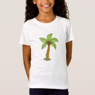 Cute Palm Tree with Coconuts T-Shirt