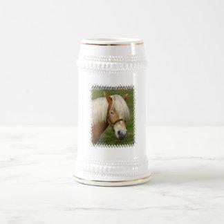 Cute Palomino Pony  Beer Steins 18 Oz Beer Stein