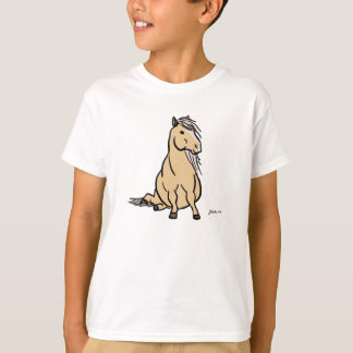 Cute Palomino Pony T-Shirt