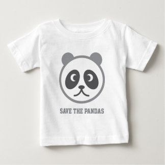 Cute Panda - add your own texts Baby T-Shirt