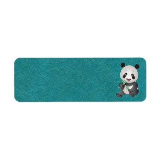 Cute Panda Address Labels