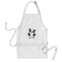Cute Panda Adult Apron