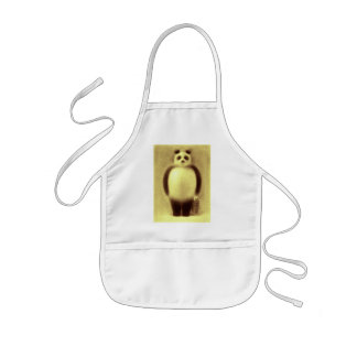 Cute Panda and Lovely Cat Kids' Apron