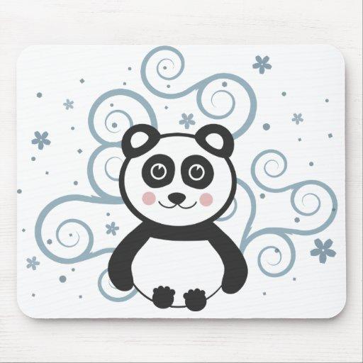 Cute Panda Baby Mousepad
