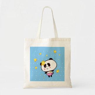 Cute Panda baby perxonalized Tote Bag