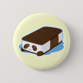 Cute Panda Bar Ice Cream Button