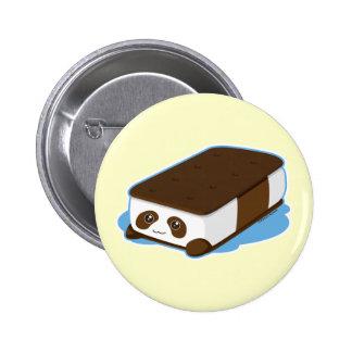 Cute Panda Bar Ice Cream Button