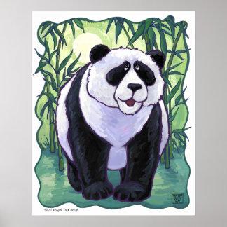 Cute Panda Bear Art Poster