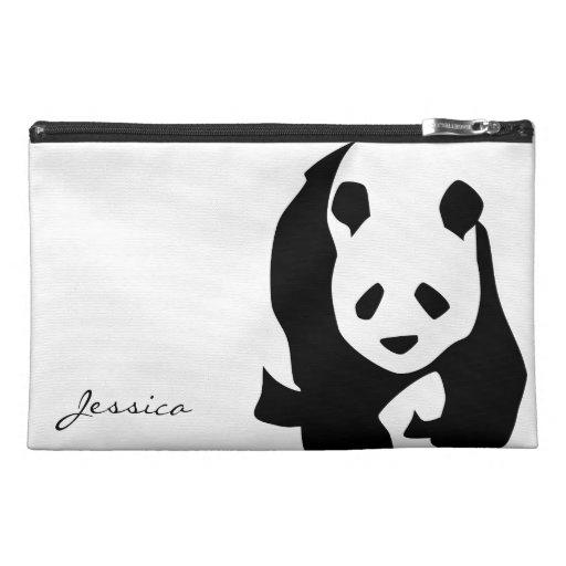 Cute Panda Bear Travel Accessory Bag