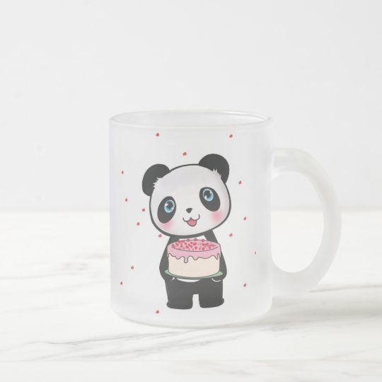 Cute Panda Bear Birthday Cake Mug Gift Bestseller