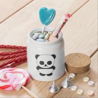 Cute Panda Bear Candy Jar