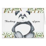 Cute Panda Bear Cards